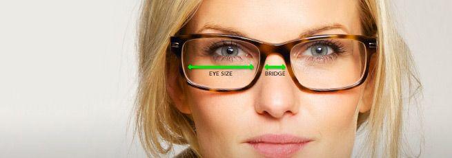 مناسبترین سایز عینک با توجه به اندازه صورت