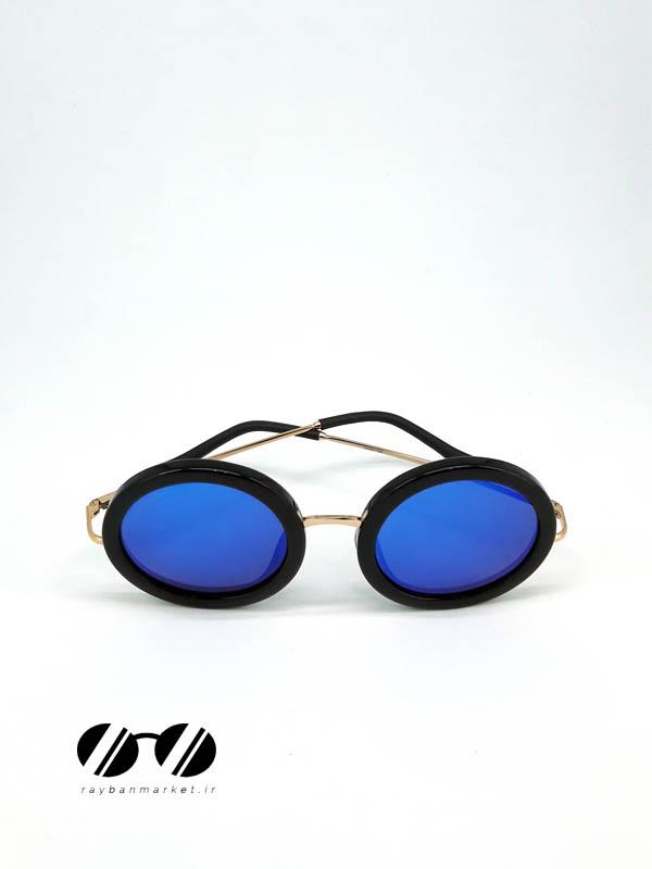 عینک آفتابی برند LINDA FARROW مدل THE ROW BLUE 50_24 135