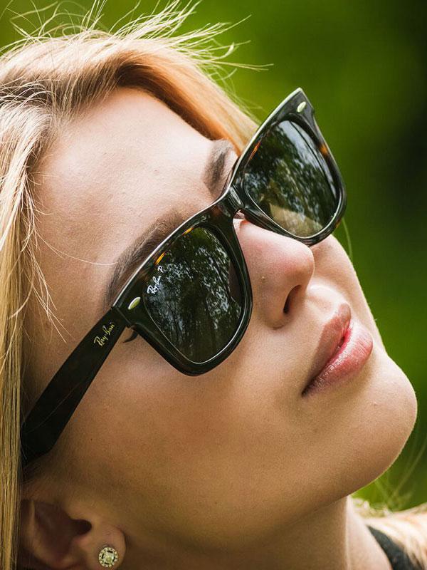 عینک آفتابی ری بن مدلRB2140F 902/58