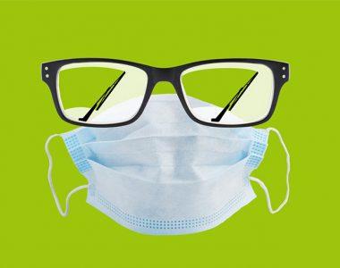 چه کنیم شیشه عینک بخار نکند ؟؟؟